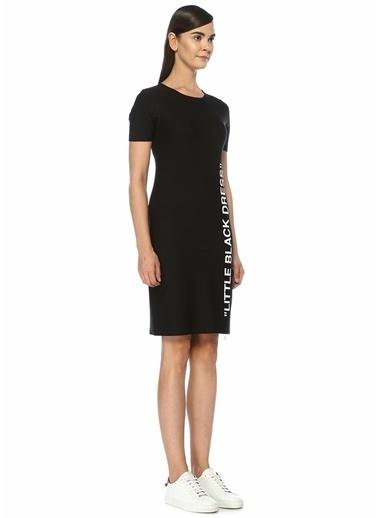 Off-White Elbise Siyah